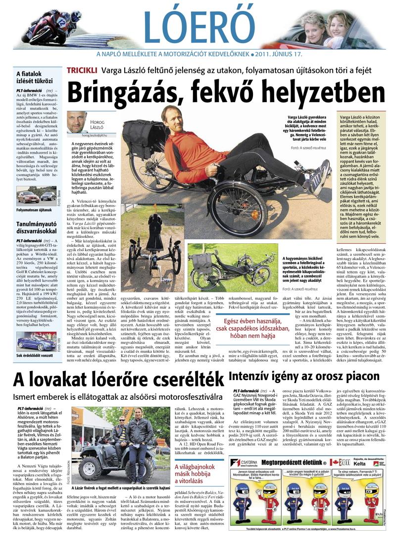 Napló - Lóerő melléklet - 2011.06.17.