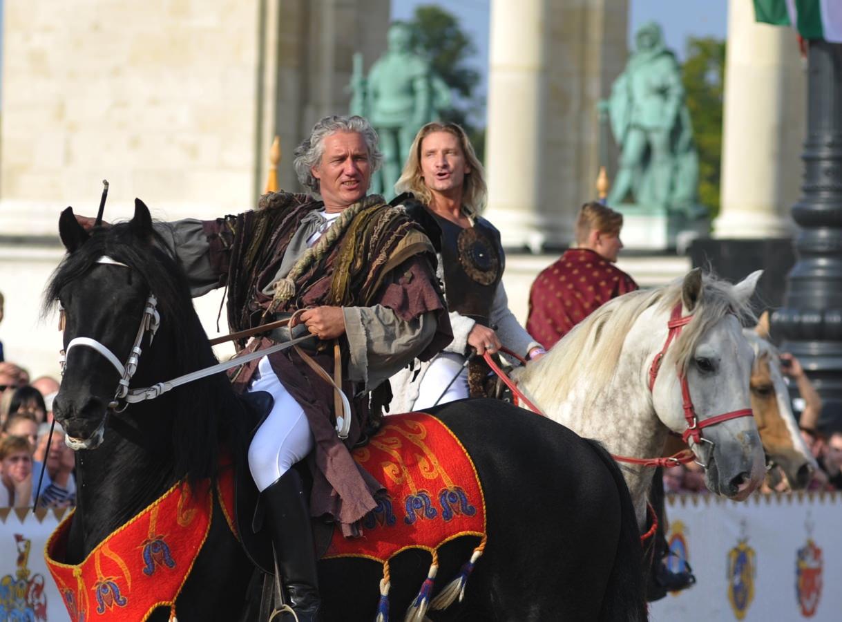 Nemzeti Lovas Színház - Gladiátor bemutató