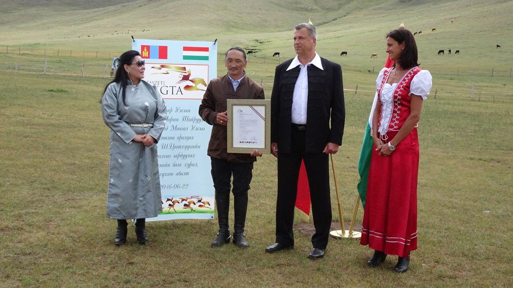 Mongólia az idén első alkalommal képviselteti magát a budapesti Nemzeti Vágtán