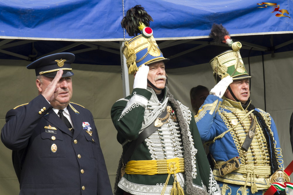 Székely Tibor hagyományőrző huszár alezredes kitüntetése