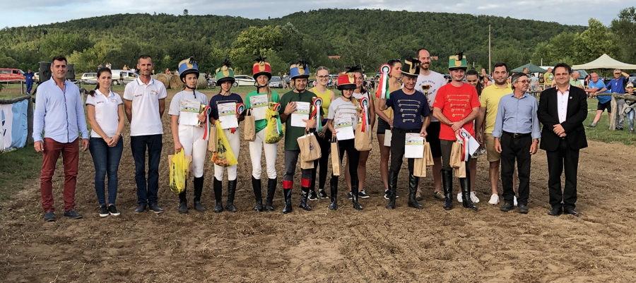 Baja lovasa nyerte a Festetics Vágtát